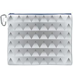 Pattern Retro Background Texture Canvas Cosmetic Bag (XXXL)