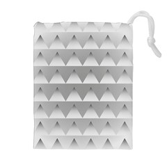 Pattern Retro Background Texture Drawstring Pouches (Extra Large)