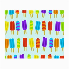 Food Pattern Small Glasses Cloth (2-Side)