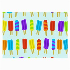 Food Pattern Large Glasses Cloth (2-Side)