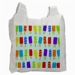 Food Pattern Recycle Bag (One Side)