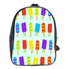 Food Pattern School Bags(Large)