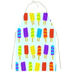 Food Pattern Full Print Aprons