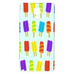 Food Pattern Galaxy Note 4 Back Case