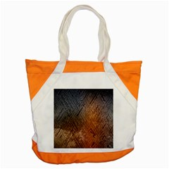 Typography Accent Tote Bag