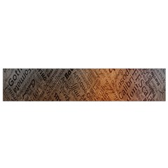 Typography Flano Scarf (small)