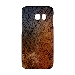 Typography Galaxy S6 Edge
