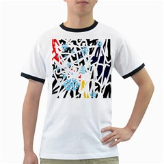 Abstraction Ringer T-Shirts