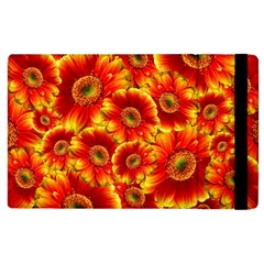 Gerbera Flowers Blossom Bloom Apple iPad 3/4 Flip Case