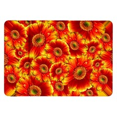 Gerbera Flowers Blossom Bloom Samsung Galaxy Tab 8.9  P7300 Flip Case