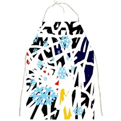 Abstraction Full Print Aprons