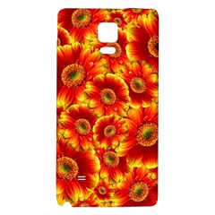 Gerbera Flowers Blossom Bloom Galaxy Note 4 Back Case
