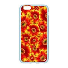 Gerbera Flowers Blossom Bloom Apple Seamless iPhone 6/6S Case (Color)