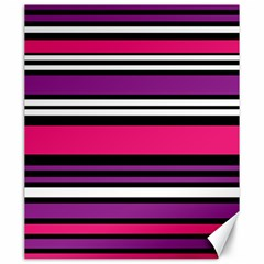 Stripes Colorful Background Canvas 20  x 24