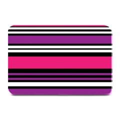 Stripes Colorful Background Plate Mats