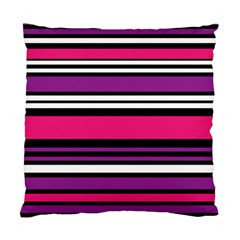 Stripes Colorful Background Standard Cushion Case (Two Sides)