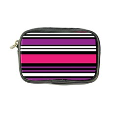 Stripes Colorful Background Coin Purse