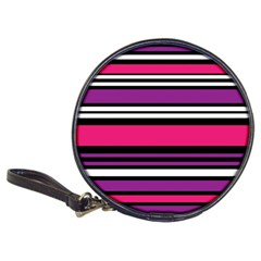 Stripes Colorful Background Classic 20 Cd Wallets