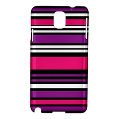 Stripes Colorful Background Samsung Galaxy Note 3 N9005 Hardshell Case