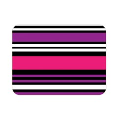 Stripes Colorful Background Double Sided Flano Blanket (mini)