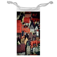 Tilt Shift Of Urban View During Daytime Jewelry Bag