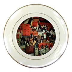 Tilt Shift Of Urban View During Daytime Porcelain Plates