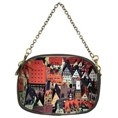 Tilt Shift Of Urban View During Daytime Chain Purses (Two Sides)