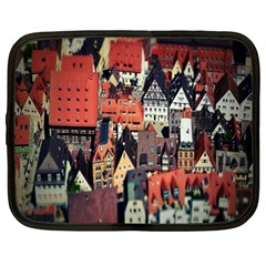 Tilt Shift Of Urban View During Daytime Netbook Case (XL)