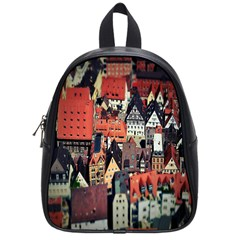Tilt Shift Of Urban View During Daytime School Bags (Small)
