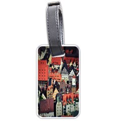 Tilt Shift Of Urban View During Daytime Luggage Tags (Two Sides)