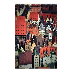 Tilt Shift Of Urban View During Daytime Shower Curtain 48  x 72  (Small)