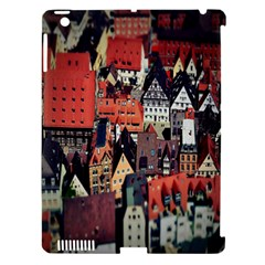 Tilt Shift Of Urban View During Daytime Apple iPad 3/4 Hardshell Case (Compatible with Smart Cover)