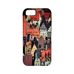 Tilt Shift Of Urban View During Daytime Apple iPhone 5 Classic Hardshell Case (PC+Silicone)