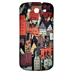 Tilt Shift Of Urban View During Daytime Samsung Galaxy S3 S Iii Classic Hardshell Back Case