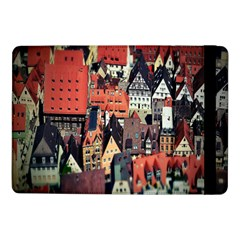 Tilt Shift Of Urban View During Daytime Samsung Galaxy Tab Pro 10.1  Flip Case