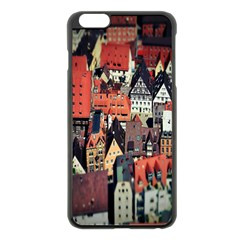 Tilt Shift Of Urban View During Daytime Apple Iphone 6 Plus/6s Plus Black Enamel Case