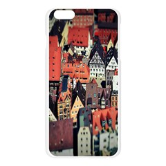 Tilt Shift Of Urban View During Daytime Apple Seamless iPhone 6 Plus/6S Plus Case (Transparent)