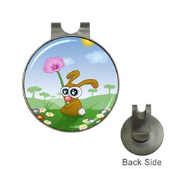 Easter Spring Flowers Happy Hat Clips with Golf Markers