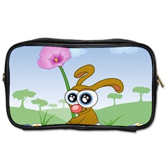 Easter Spring Flowers Happy Toiletries Bags