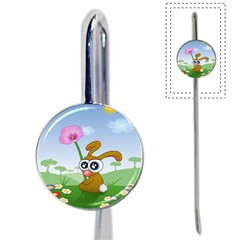Easter Spring Flowers Happy Book Mark