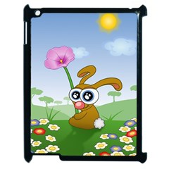 Easter Spring Flowers Happy Apple Ipad 2 Case (black)