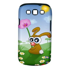 Easter Spring Flowers Happy Samsung Galaxy S III Classic Hardshell Case (PC+Silicone)