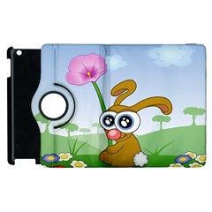 Easter Spring Flowers Happy Apple iPad 3/4 Flip 360 Case