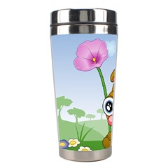 Easter Spring Flowers Happy Stainless Steel Travel Tumblers
