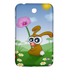 Easter Spring Flowers Happy Samsung Galaxy Tab 3 (7 ) P3200 Hardshell Case