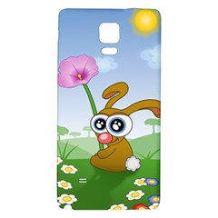 Easter Spring Flowers Happy Galaxy Note 4 Back Case