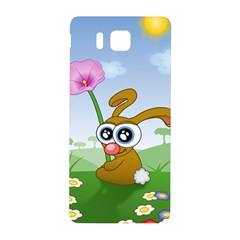 Easter Spring Flowers Happy Samsung Galaxy Alpha Hardshell Back Case