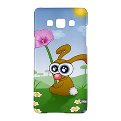 Easter Spring Flowers Happy Samsung Galaxy A5 Hardshell Case