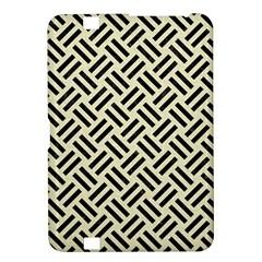 Woven2 Black Marble & Beige Linen (r) Kindle Fire Hd 8 9  Hardshell Case