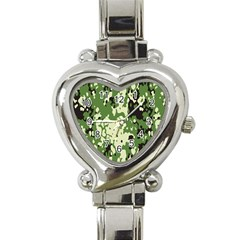 Flectar Heart Italian Charm Watch